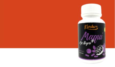 Cápsulas Maqui + Ajo Negro