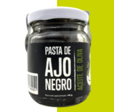 Pasta de Ajo Negro Aceite Oliva 140 gr